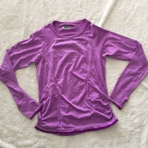 ATHLETA Long Sleeve work out top